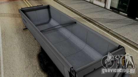 Schmied Bigcargo Solid Trailer Stock для GTA San Andreas вид справа