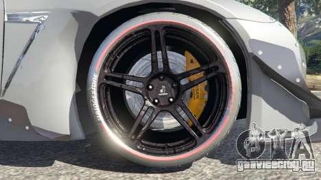 Nissan GT-R (R35) [RocketBunny] для GTA 5 вид сзади справа