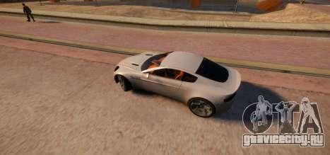 Aston Martin DB9 Vice City Deluxe для GTA 4 вид слева