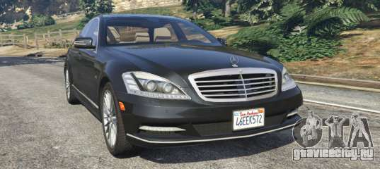 Mercedes benz s600 w221 2009 gta 5 for 2009 mercedes benz s600