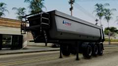 Schmied Bigcargo Solid Trailer Stock для GTA San Andreas