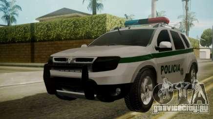 Renault Duster Patrulla Policia Colombiana для GTA San Andreas