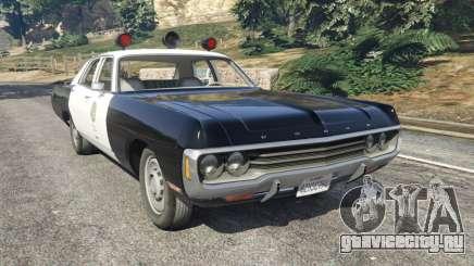 Dodge Polara 1971 Police v4.0 для GTA 5