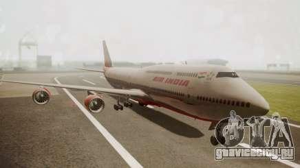 Boeing 747-8I Air India для GTA San Andreas