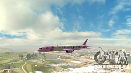 LoveLive Boeing 787-9 Livery для GTA San Andreas