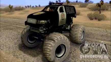 The Police Monster Trucks для GTA San Andreas