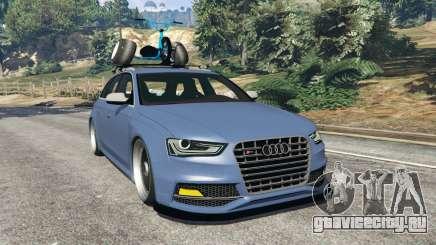 Audi RS4 Avant 2014 для GTA 5