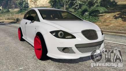 SEAT Leon II 2010 v1.1 для GTA 5