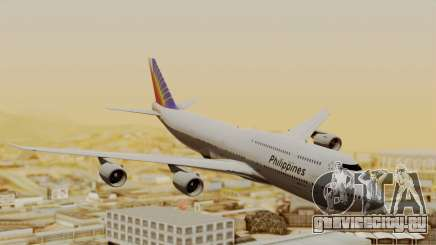 Boeing 747-8I Philippine Airlines для GTA San Andreas