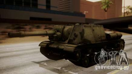 ISU-152 from World of Tanks для GTA San Andreas