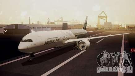 Airbus 350-900XWB MSN2 Carbon Livery для GTA San Andreas