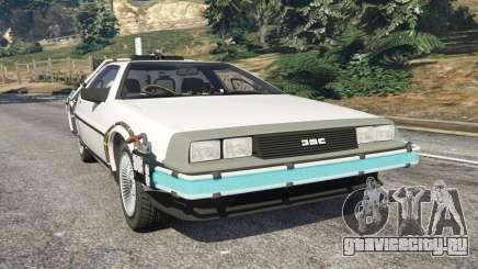 DeLorean DMC-12 Back To The Future v0.5 для GTA 5