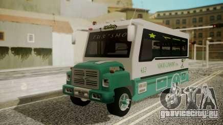 Chevrolet B70 Bus Colombia для GTA San Andreas