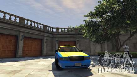 Ford Crown Victoria Taxi v1.1 для GTA 5