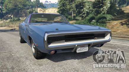 Dodge Charger RT 1970 v3.0 для GTA 5