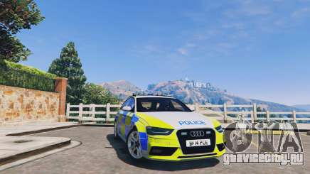 Audi A4 Avant 2013 British Police для GTA 5