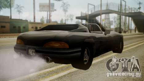 Banshee III для GTA San Andreas вид слева
