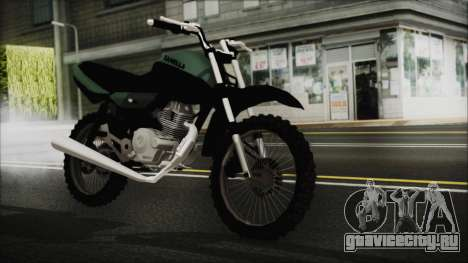 Zanella RX150 Cross для GTA San Andreas
