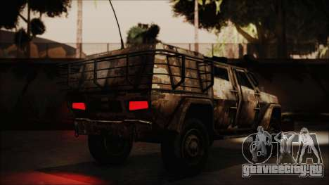 Joint Light Tactical Vehicle для GTA San Andreas вид слева