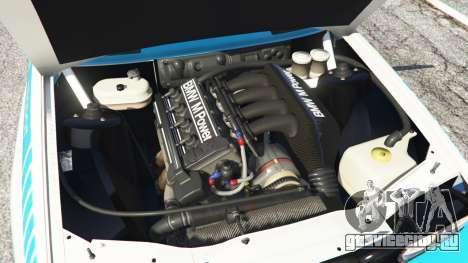 BMW M3 (E30) 1991 [Jeschke] v1.2 для GTA 5 вид сзади справа