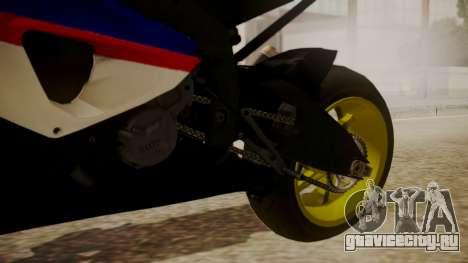 BMW S1000RR Limited для GTA San Andreas вид справа