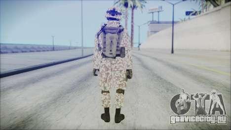 Bundeswehr Desert v1 для GTA San Andreas третий скриншот