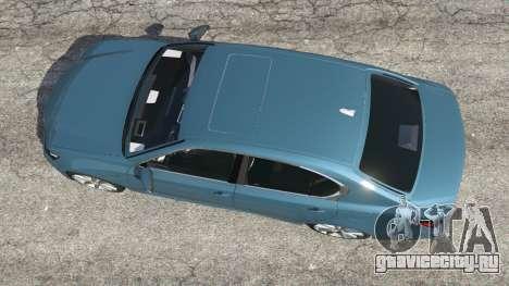 Lexus GS 350 F-Sport 2013 для GTA 5 вид сзади