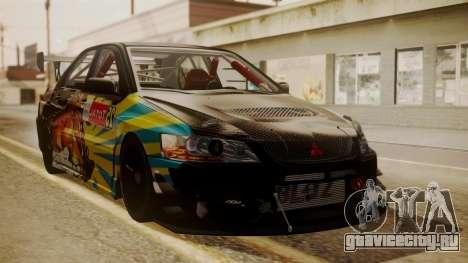 Mitsubishi Lancer Evolution Pushkar для GTA San Andreas