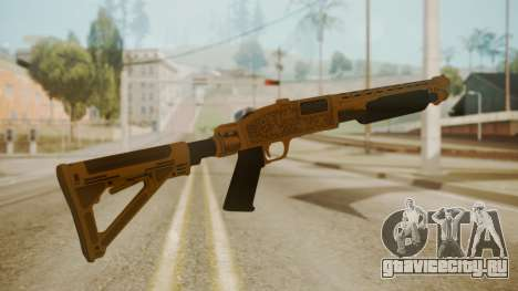 GTA 5 Pump Shotgun для GTA San Andreas второй скриншот