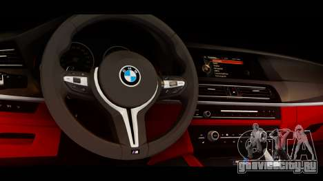 BMW M5 F10 Top Service MSK для GTA San Andreas вид справа