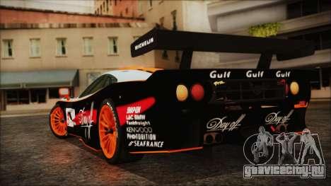 McLaren F1 GTR 1998 для GTA San Andreas вид слева
