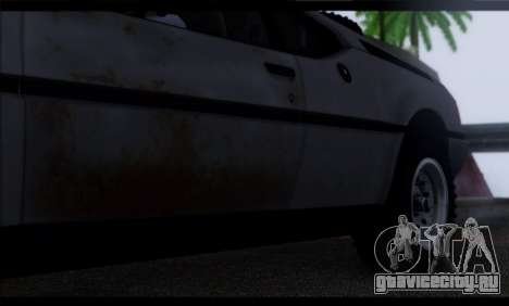BMW M1 E26 Rusty Rebel для GTA San Andreas вид сверху