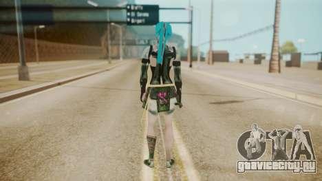 Jinxed Akali для GTA San Andreas третий скриншот