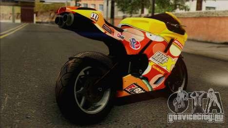 GTA 5 Bati HD для GTA San Andreas вид слева