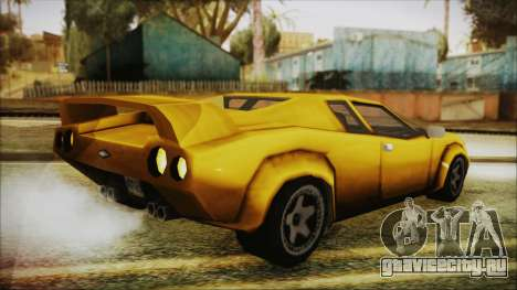 Vice City Infernus для GTA San Andreas вид слева