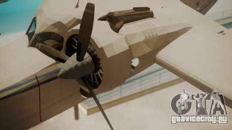 Grumman G-21 Goose WhiteBlueLines для GTA San Andreas вид справа