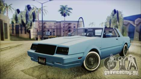 GTA 5 Willard Faction Custom IVF для GTA San Andreas
