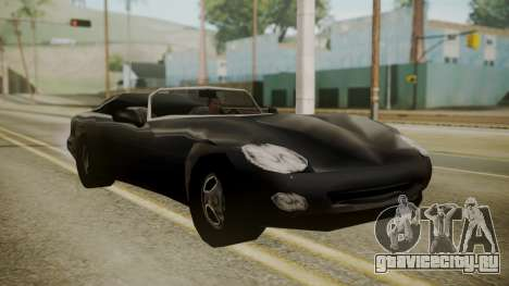 Banshee III для GTA San Andreas вид сзади слева
