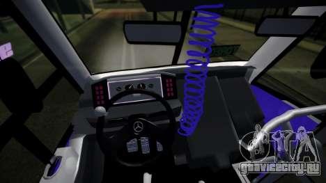 Mercedes-Benz Ayco Zafiro Influyente для GTA San Andreas вид справа
