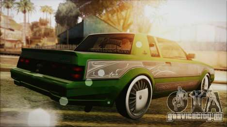 GTA 5 Faction LowRider DLC для GTA San Andreas вид слева