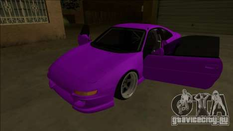 Toyota MR2 Drift для GTA San Andreas вид снизу