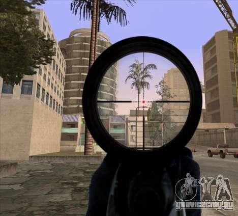 Sniper Scope v2 для GTA San Andreas второй скриншот