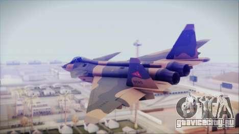 Mikoyan MIG 1.44 Flatpack Venezuelan Air Force для GTA San Andreas вид слева