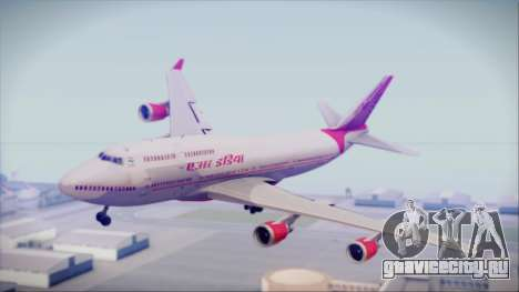 Boeing 747-437 Air India Tanjore Old Skin для GTA San Andreas