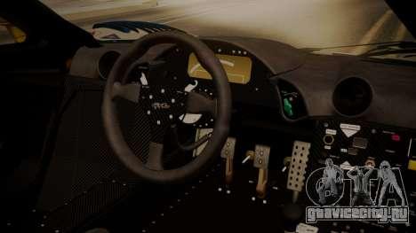 McLaren F1 GTR 1998 HarmanKardon для GTA San Andreas вид справа