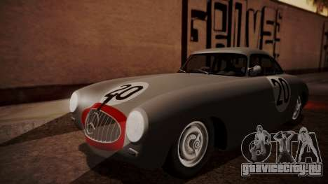 Mercedes-Benz 300 SL (W194) 1952 HQLM для GTA San Andreas вид сверху