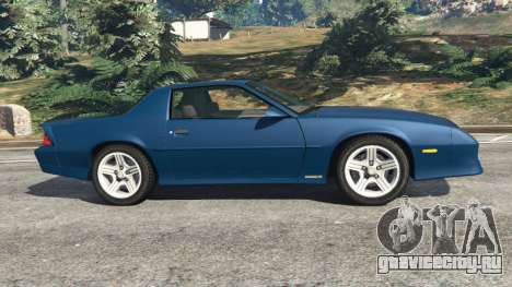 Chevrolet Camaro IROC-Z [Beta 3] для GTA 5 вид слева
