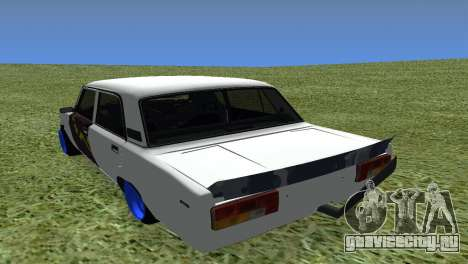 ВАЗ 2105 БК Final для GTA San Andreas вид сзади слева