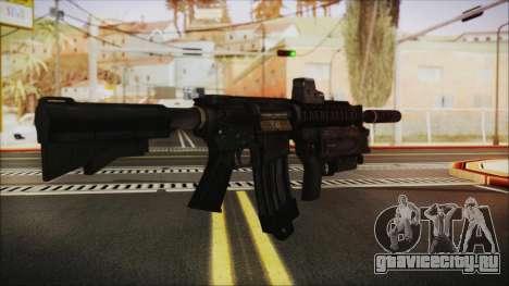 M4 SpecOps для GTA San Andreas второй скриншот