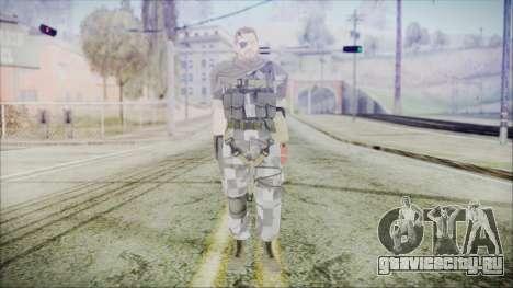 MGSV Phantom Pain Snake Scarf Square для GTA San Andreas второй скриншот